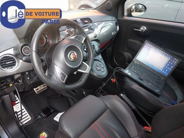 cl perdue de fiat 500 ann e 2012 cle de voiture paris. Black Bedroom Furniture Sets. Home Design Ideas